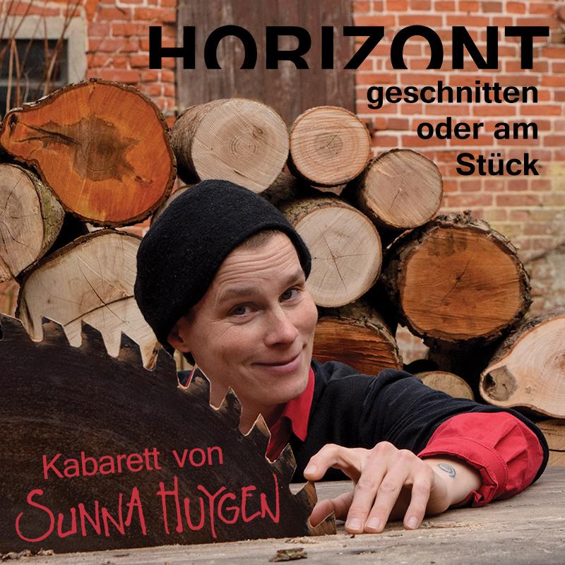Werbeplakat Horizont - Geschnitten oder am Stück