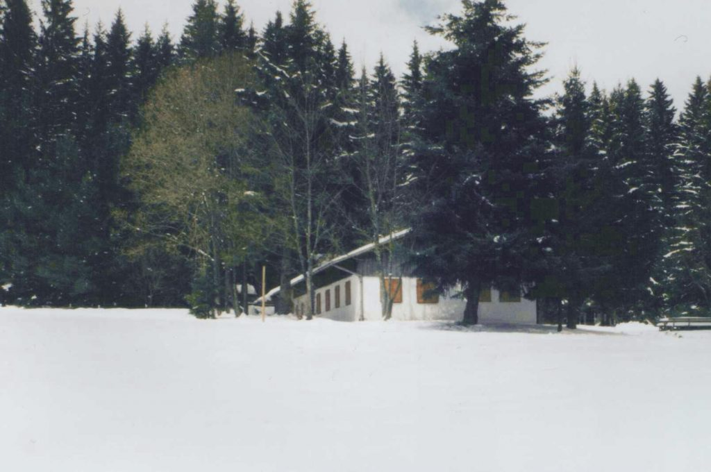 Kesselberghaus Winter